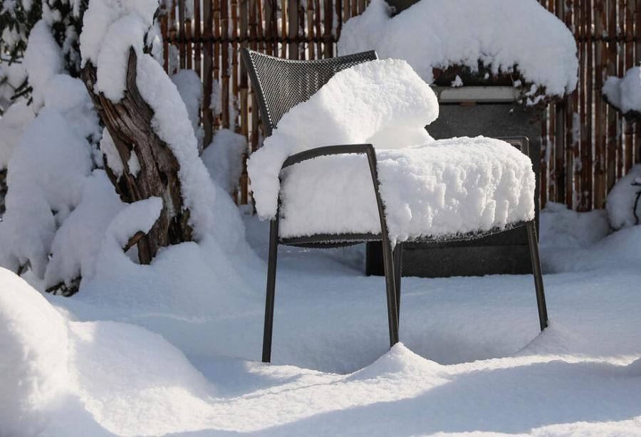 Przygotowanie mebli ogrodowych na sezon zimowy