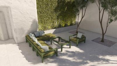 TEIDE Meble modułowe do ogrodu i taras