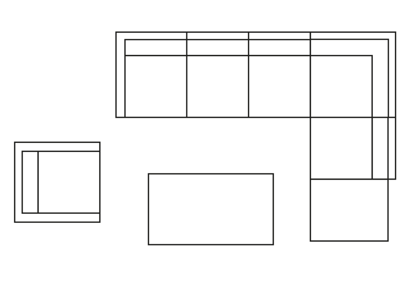 meble tarasowe teide układ przykładowe ustawienie