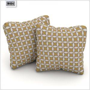 Poduszka do mebli tarasowych - mozajka