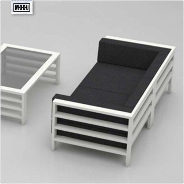Sofa tarasowa dwójka - MODU Arucas